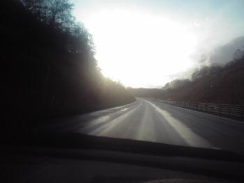 高速の短い陽の中 2