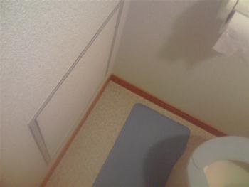 トイレの点検口1