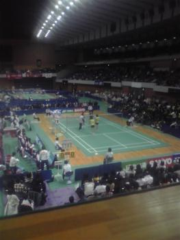 末綱・前田(NEC) VS 小椋・脇坂(SANYO) 1