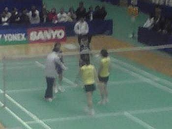 末綱・前田(NEC) VS 小椋・脇坂(SANYO) 2
