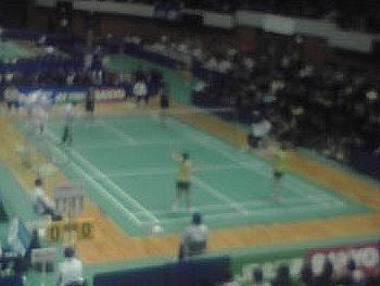 末綱・前田(NEC) VS 小椋・脇坂(SANYO) 3