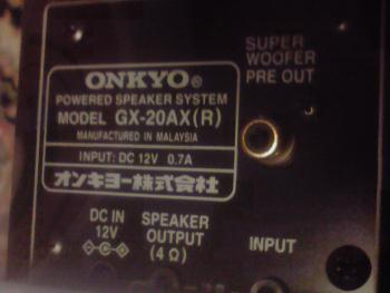ONKYO GX 20 AX 2