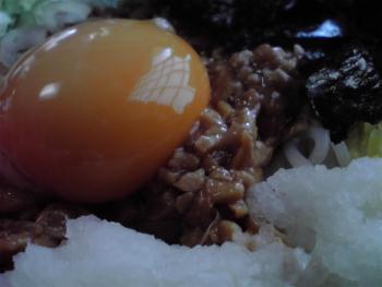 白老 福住 納豆蕎麦2