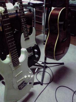 わしのギターたち