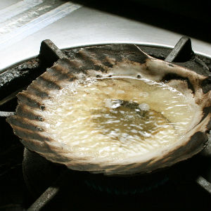 青森の郷土料理、貝焼き味噌