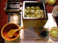 豆腐のひつまぶしです。めずらしいでしょ?