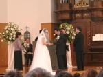 若村師結婚式