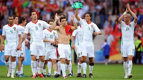 準々決勝進出が決定したポルトガルのイレブン