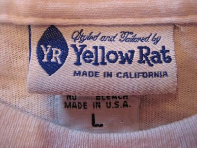 YELLOW RAT