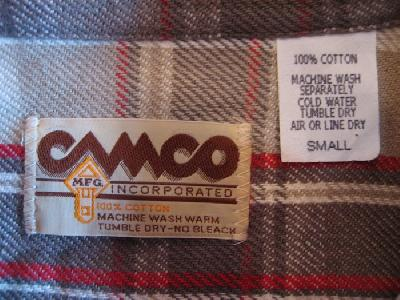 CAMCO ネルシャツ