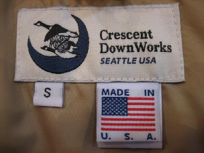 CRESCENT DOWN WORKS