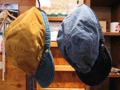 DECHO CORDUROY & DENIM KOME CAP    FARMHOUSE