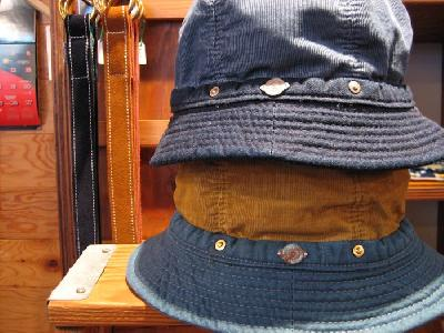 DECHO SUMMER CORDUROY KOME HAT   FARMHOUSE
