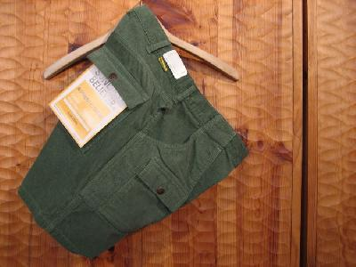 SUNLIGHT BELIEVER CORDUROY BUSH SHORTS