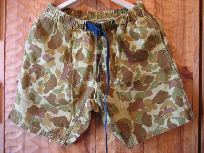JAMMING CLIMING SHORTS DUCK HUNTER CAMO 通販