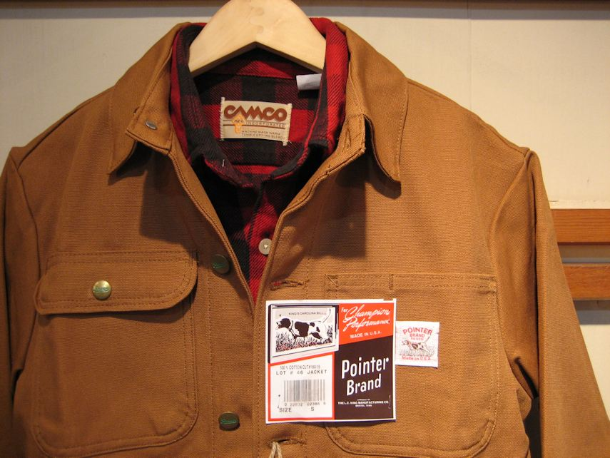 POINTER BRAND CHORE COAT 京都 取扱店