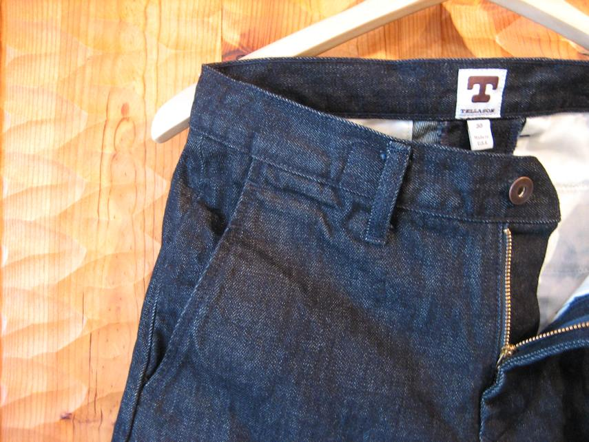 TELLASON DENIM TROUSERS 京都 取扱店