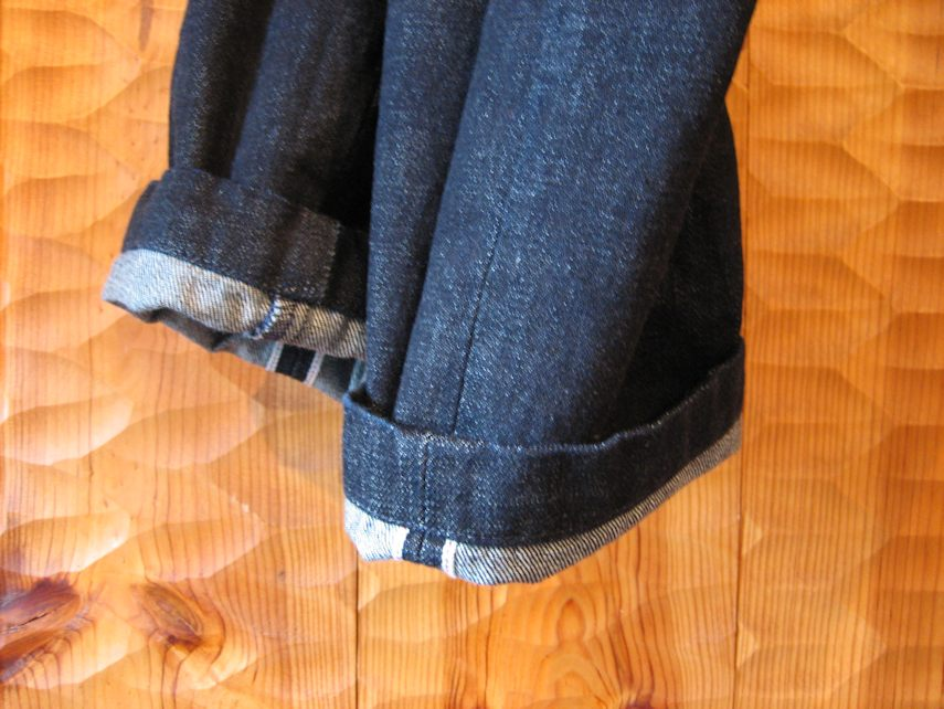 TELLASON DENIM TROUSERS 京都 通販