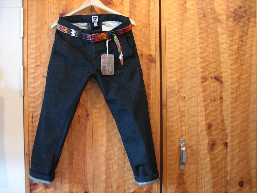 TELLASON DENIM TROUSERS 関西 取扱店