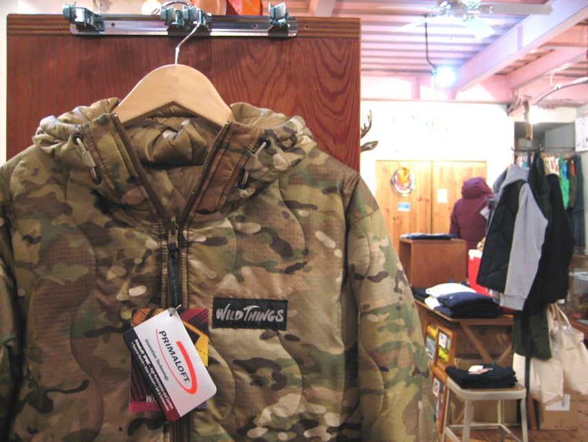 WILDTHINGS PRIMALOFT MADE IN USA 京都 取扱店