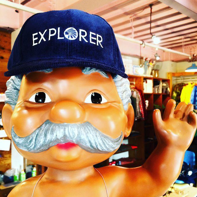 SANDIE EXPLORER CORDUROY CAP