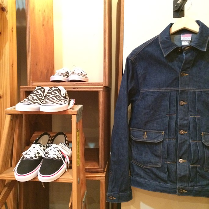 POINTER BRAND SPECIAL DENIM JACKET