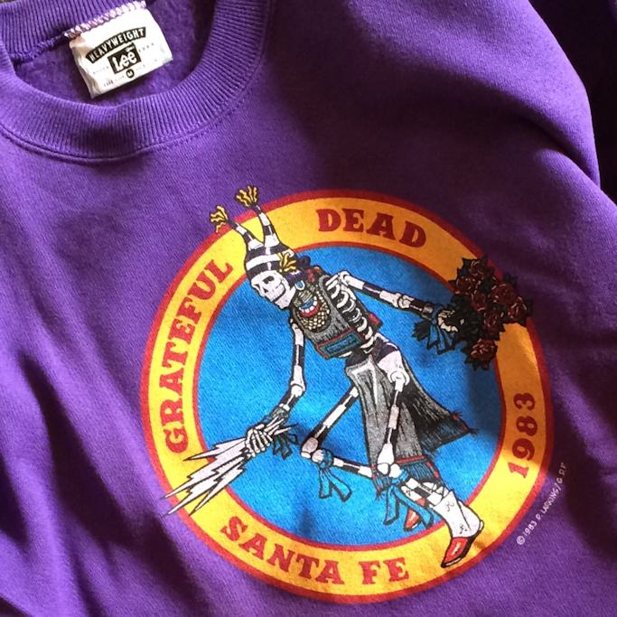 GRATEFUL DEAD SANTA FE 1983 SWEAT