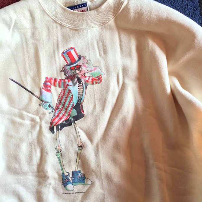 GRATEFUL DEAD 1986 SWEAT