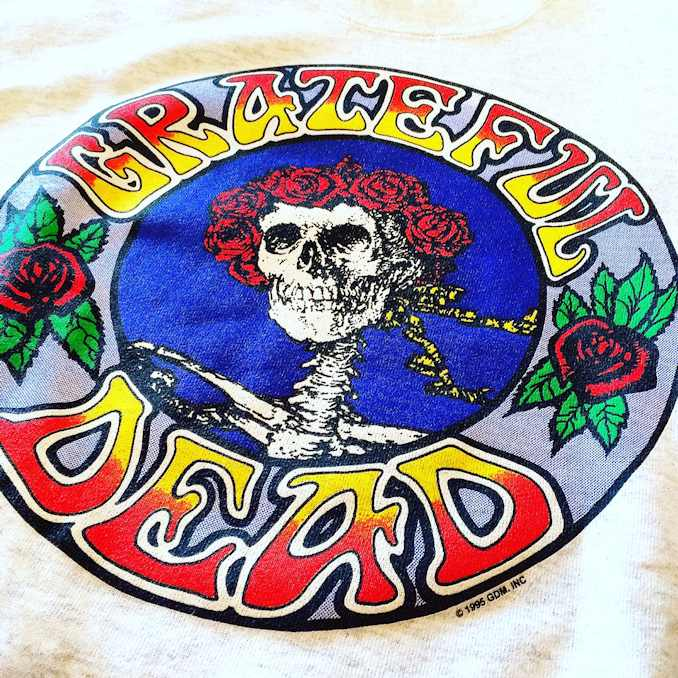 GRATEFUL DEAD SKULL&ROSE SWEAT