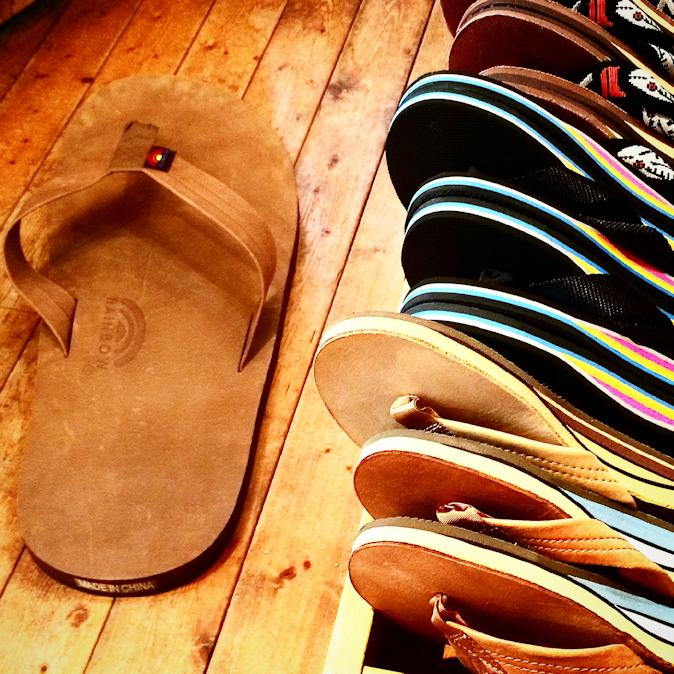 RAINBOW SANDALS 302 CLASSIC LEATHER