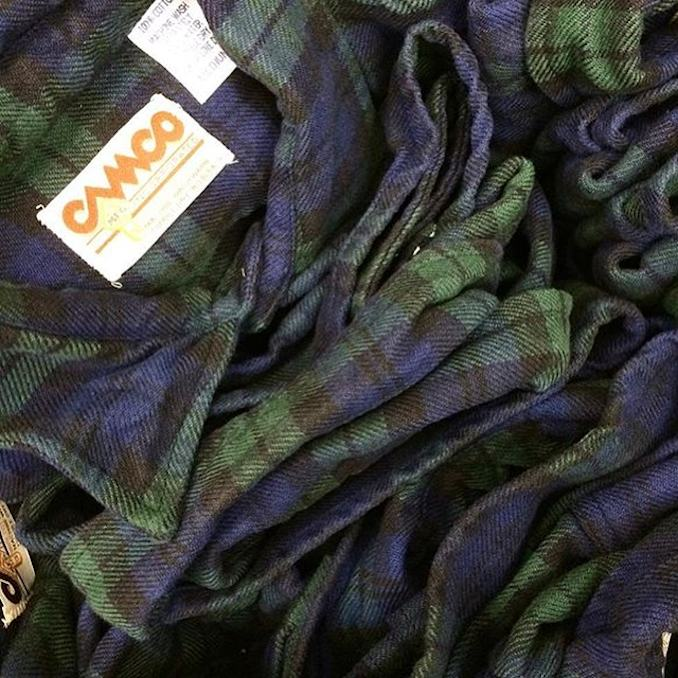 CAMCO BLACK WATCH FLANNEL SHIRTS