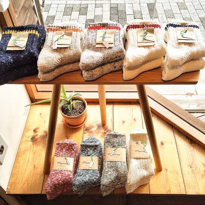 MAUNA KEA 靴下 京都