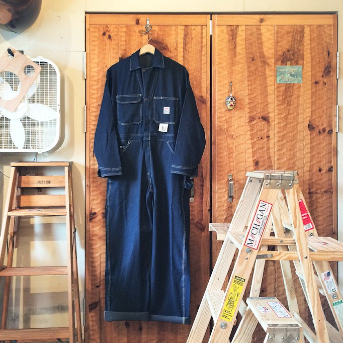 POINTER BRAND DENIM COVERALLS