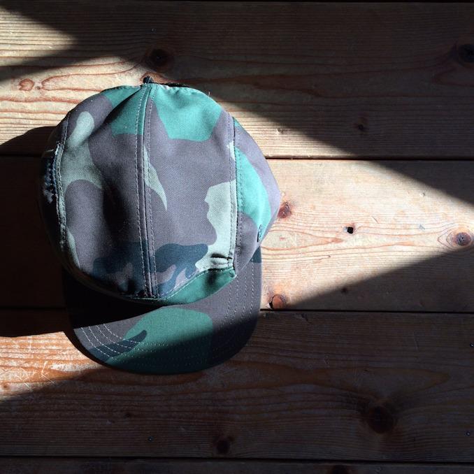 NEWYORK HAT WOODLAND CAMO CAMP HAT