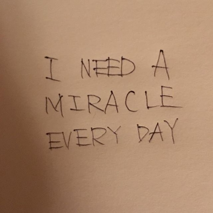 GRATEFUL DEAD I NEED A MIRACLE EVERY DAY