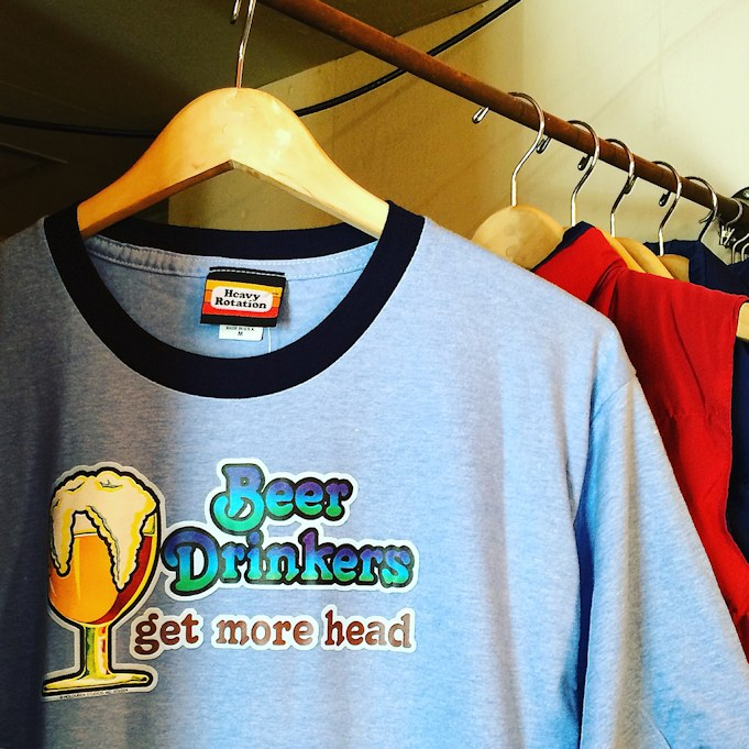 HEAVY ROTATION BEER DRINKERS RINGER TEE FARMHOUSE