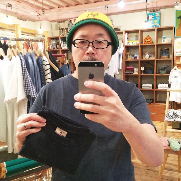 GOOD WEAR S/S POCKET TEE 京都