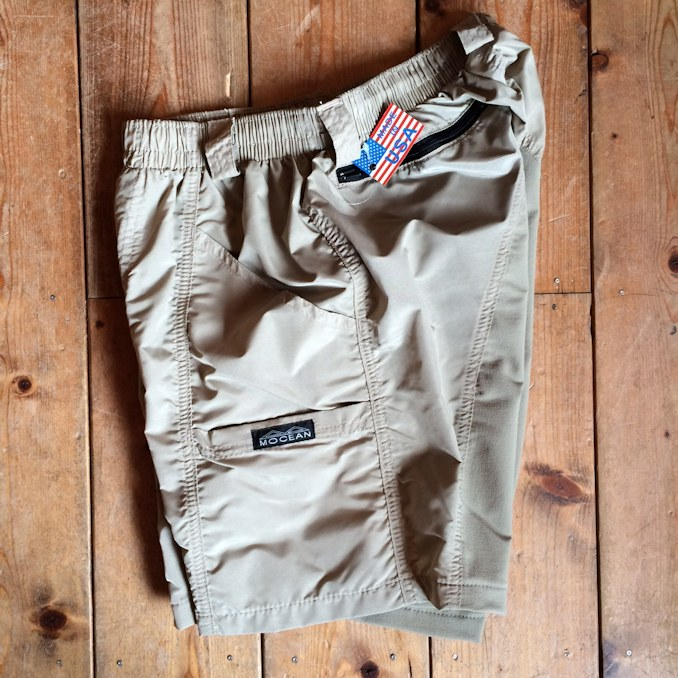 MOCEAN VELOCITY SHORTS KHAKI FARMHOUSE 通販