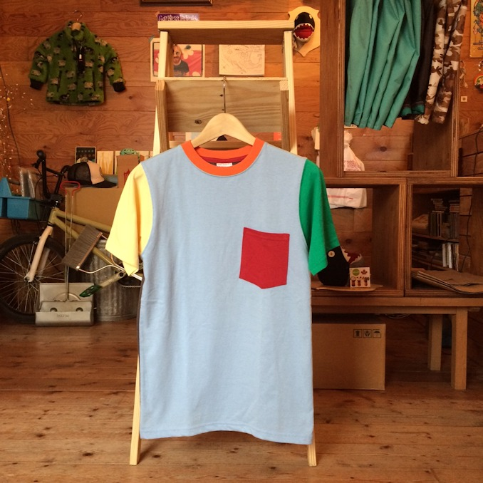 WALLA WALLA SPORTS CRAZY COLOR POCKET TEE FARMHOUSE