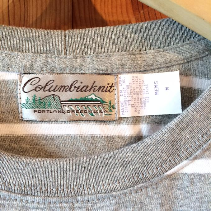 COLUMBIAKNIT BORDER L/S TEE FARMHOUSE