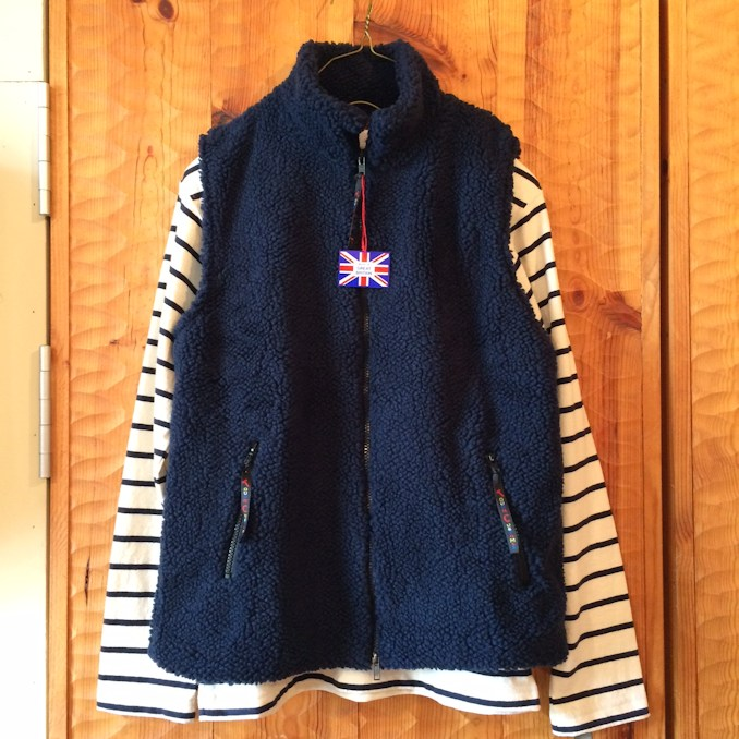 FARFIELD FLEECE VEST FARMHOUSE