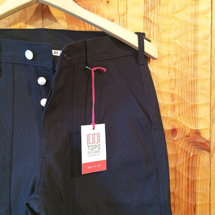 TOPO DESIGNS WORK PANTS FARMHOUSE