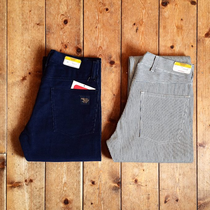 CALIFORNIA BRAND CORDUROY PANTS DEAD STOCK