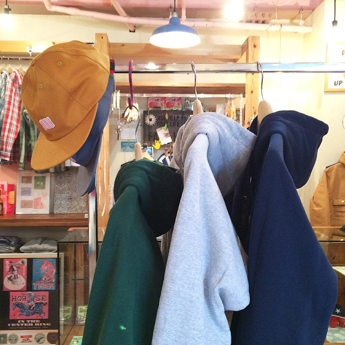 CAMBER CHILL BUSTER ZIP HOODIE XS 取扱店 FARMHOUSE