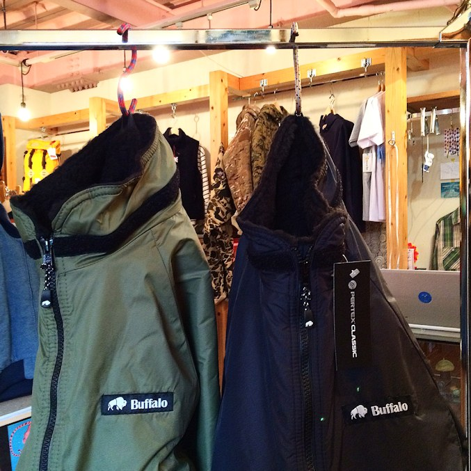BUFFALO SYSTEMS BELAY JACKET 取扱店 FARMHOUSE京都