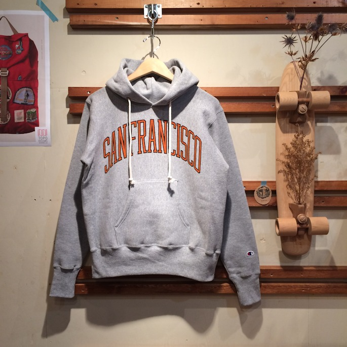 CHAMPION SANFRANCISCO REVERSE WEAVE PULLOVER HOODIE MADE IN USA