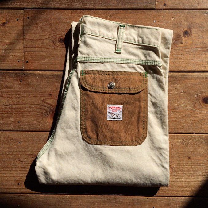 POINTER BRAND SPECIAL 4POCKET PANTS MADE IN USA FARMHOUSE京都