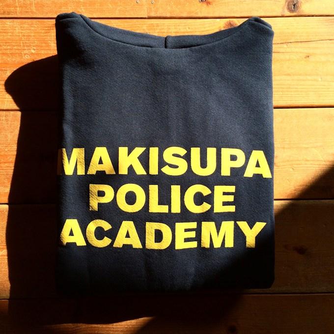 PHISH MAKISUPA POLICE ACADEMY ZIP HOODIE FARMHOUSE京都