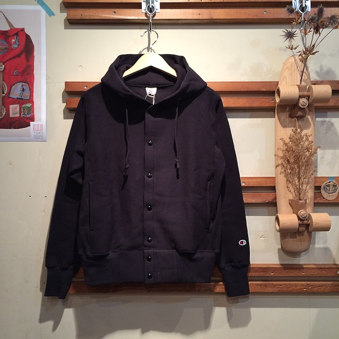 CHAMPION SNAP HOODIE MADE IN USA FARMHOUSE京都