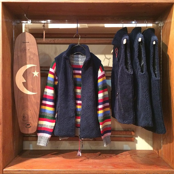FARFIELD FLEECE VEST FARMHOUSE京都